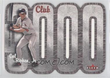 2000 Fleer 3000 Club - Multi-Product Insert [Base] #CARI - Cal Ripken Jr.