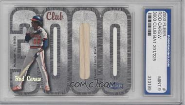 2000 Fleer 3000 Club Multi-Product Insert [Base] Memorabilia #N/A - Rod Carew [ENCASED]