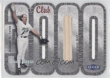 2000 Fleer 3000 Club Multi-Product Insert [Base] Memorabilia #WABO.1 - Wade Boggs (Bat) /250