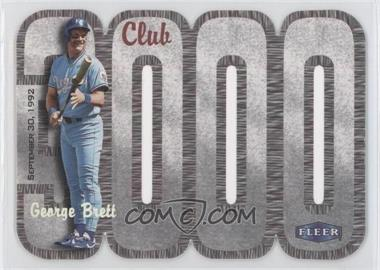 2000 Fleer 3000 Club Multi-Product Insert [Base] #GEBR - George Brett