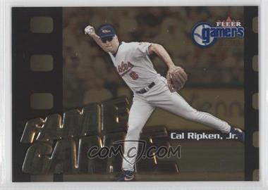 2000 Fleer Gamers [???] #112 - Cal Ripken Jr.
