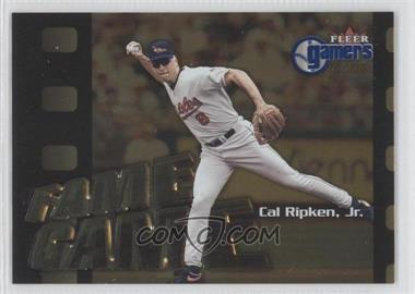 2000 Fleer Gamers Extra #112 - Cal Ripken Jr.