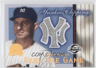 2000 Fleer Greats of the Game Yankees Clippings #N/A - Tommy Henrich
