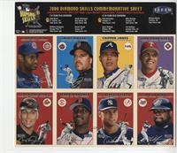 Ivan Rodriguez, Chipper Jones, Mike Piazza, Sammy Sosa, Cal Ripken Jr., Pedro M…