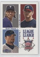 Randy Johnson, Kevin Millwood, Mike Hampton