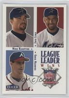 Greg Maddux, Mike Hampton, Jose Lima