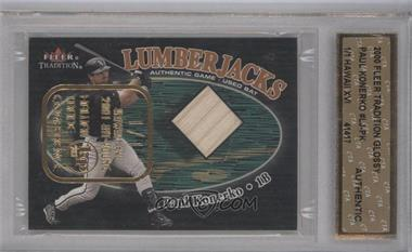 2000 Fleer Tradition Lumberjacks Glossy Hawaii Trade Show Kit Young #N/A - Paul Konerko /1 [ENCASED]
