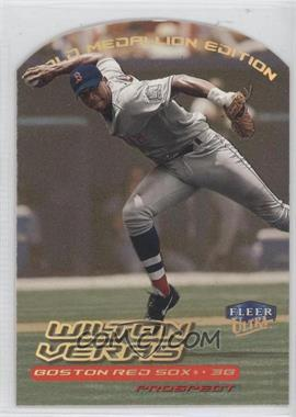 2000 Fleer Ultra Gold Medallion Edition #271G - Wilton Veras