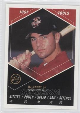 2000 Just Minors Just the Preview Just Tools #6 - B.J. Garbe