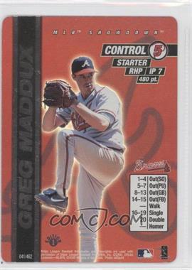2000 MLB Showdown - [Base] - 1st Edition #041 - Greg Maddux