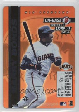 2000 MLB Showdown - [Base] - 1st Edition #374 - Barry Bonds