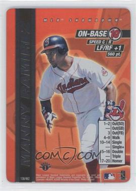 2000 MLB Showdown 1st Edition #136 - Manny Ramirez
