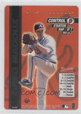 2000 MLB Showdown Edition 1 #041 - Greg Maddux