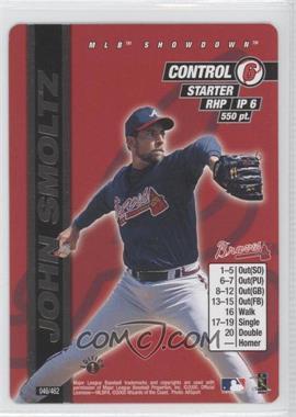 2000 MLB Showdown Edition 1 #046 - John Smoltz