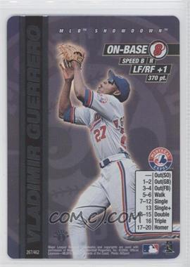 2000 MLB Showdown Edition 1 #267 - Vladimir Guerrero