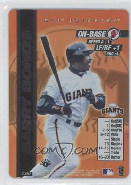 2000 MLB Showdown Edition 1 #374 - Barry Bonds