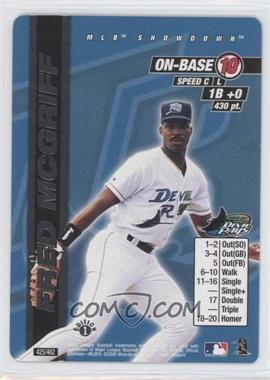2000 MLB Showdown Edition 1 #425 - Fred McGriff