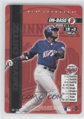 2000 MLB Showdown Pennant Run - [Base] #082 - David Ortiz