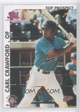 2000 Multi-Ad Sports South Atlantic League Top Prospects #9 - Carl Crawford