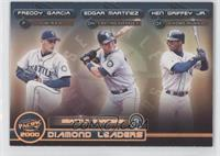 Freddy Garcia, Edgar Martinez, Ken Griffey Jr.