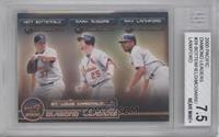 Kent Bottenfield, Mark McGwire, Ray Lankford [BGS 7.5]