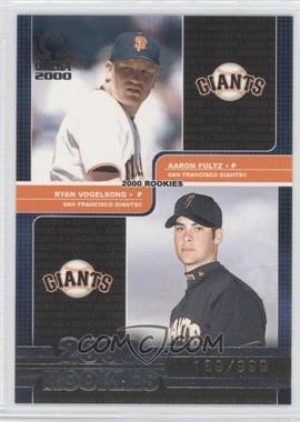 2000 Pacific Omega - [Base] #235 - Aaron Fultz, Ryan Vogelsong /999