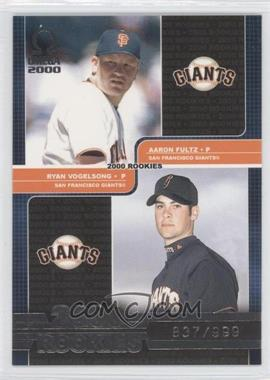 2000 Pacific Omega [???] #235 - Aaron Fultz, Ryan Vogelsong /999
