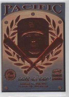2000 Pacific Paramount - Cooperstown Bound #7 - Mark McGwire