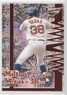 2000 Pacific Revolution Red #28 - Wilton Veras /63
