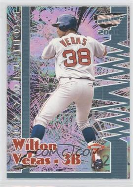 2000 Pacific Revolution Shadow Series #28 - Wilton Veras /99