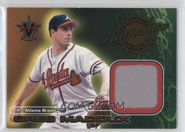 2000 Pacific Vanguard Game-Worn Jerseys #2 - Greg Maddux