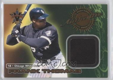 2000 Pacific Vanguard Game-Worn Jerseys #3 - Frank Thomas