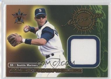 2000 Pacific Vanguard Game-Worn Jerseys #5 - Alex Rodriguez