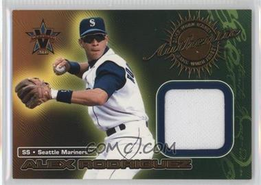 2000 Pacific Vanguard Game-Worn Jerseys #5 - Alex Rodriguez