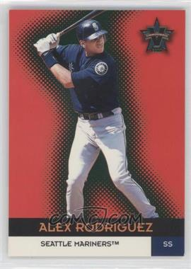 2000 Pacific Vanguard Green #40 - Alex Rodriguez /99