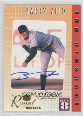 2000 Royal Rookies Elite 8 Autographs [Autographed] #3 - Barry Zito /2500
