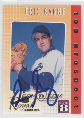 2000 Royal Rookies Elite 8 Autographs [Autographed] #4 - Eric Gagne /2500