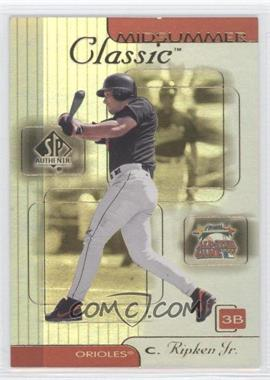 2000 SP Authentic - Midsummer Classics #MC1 - Cal Ripken Jr.
