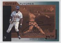 Andruw Jones (1993 SP Great Futures) /70