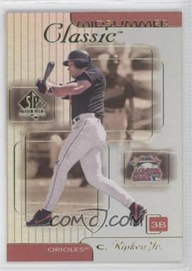 2000 SP Authentic Midsummer Classics #MC1 - Cal Ripken Jr.