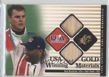 2000 SPx Winning Materials #BW-EY - Brad Wilkerson, Ernie Young