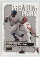 Wilton Veras, Chris Haas