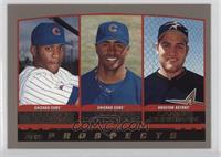 Roosevelt Brown, Corey Patterson, Lance Berkman