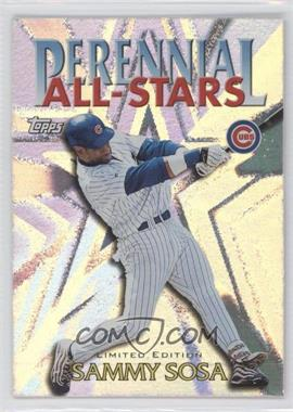2000 Topps - Perennial All-Stars - Limited Edition #PA3 - Sammy Sosa