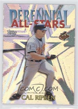2000 Topps - Perennial All-Stars - Limited Edition #PA4 - Cal Ripken Jr.