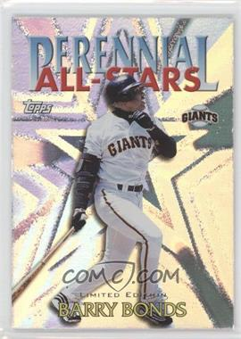 2000 Topps - Perennial All-Stars - Limited Edition #PA8 - Barry Bonds