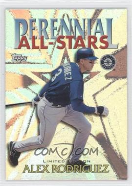 2000 Topps - Perennial All-Stars - Limited Edition #PA9 - Alex Rodriguez