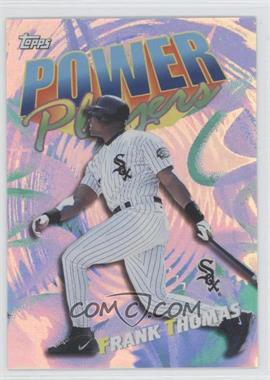 2000 Topps - Power Players #P13 - Frank Thomas