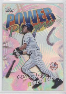 2000 Topps - Power Players #P20 - Derek Jeter