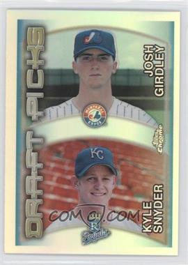 2000 Topps Chrome - [Base] - Refractor #211 - Kyle Snyder, Josh Girdley